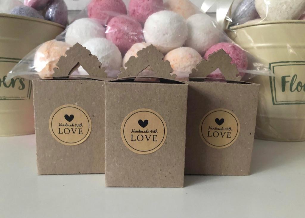 Handmade Bath Bomb Gift Boxes