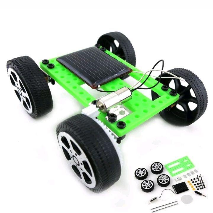 Build your own solar power car