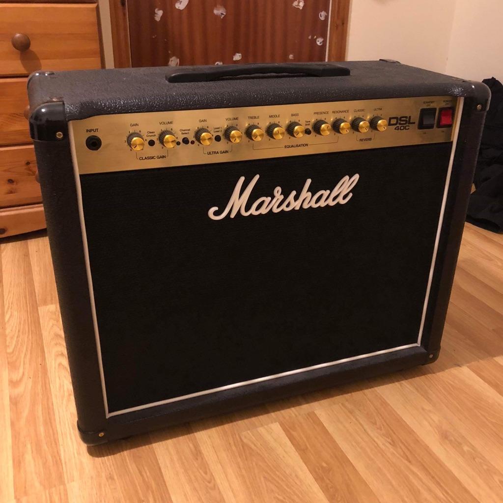Marshall DSL 40c Valve Amp