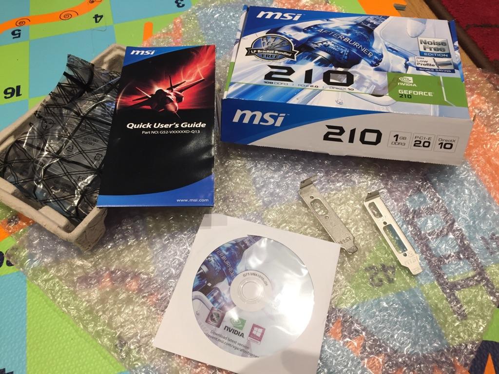 MSI GeForce 210 1GB N210 Graphics Card