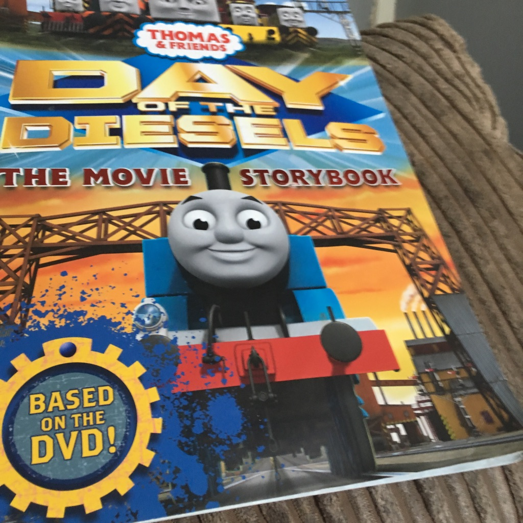 Thomas & friends day of the diesels book