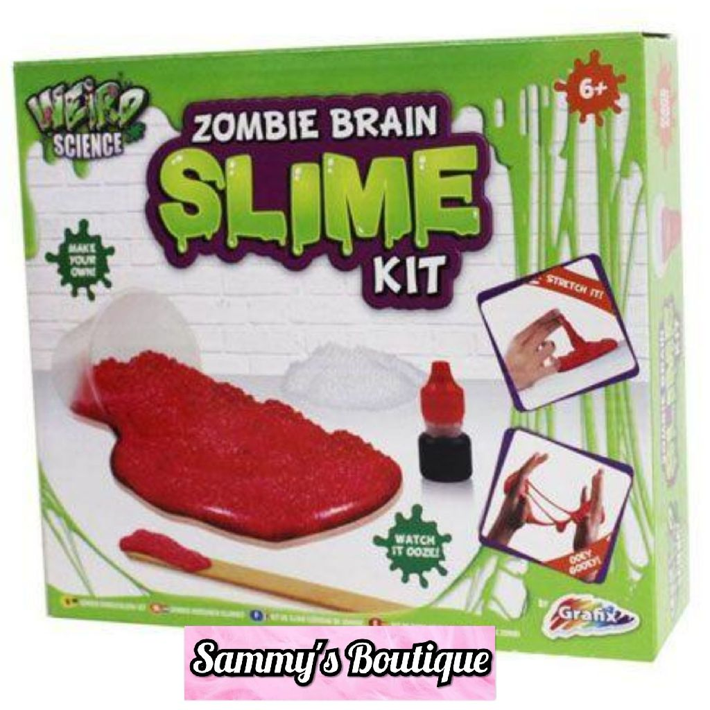 Weird Science Zombie Brain Slime Kit