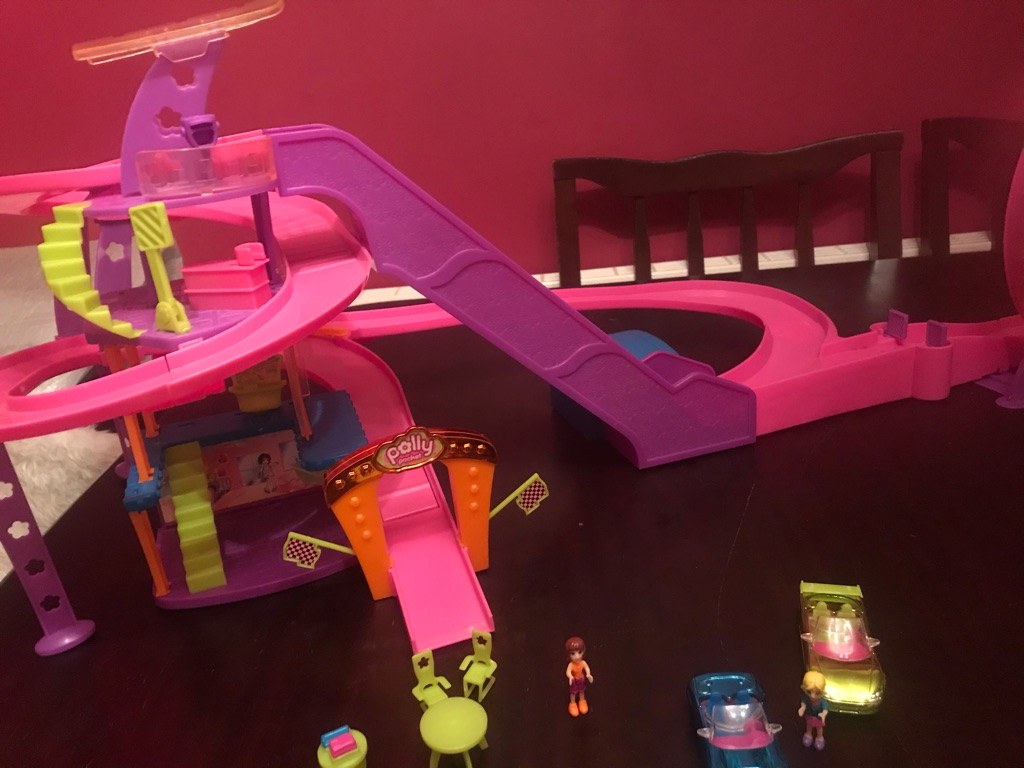 Brilliant Children's Polly Pocket Race To The Mall
