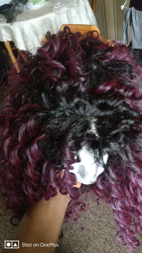 Wig synthetic 30 innch