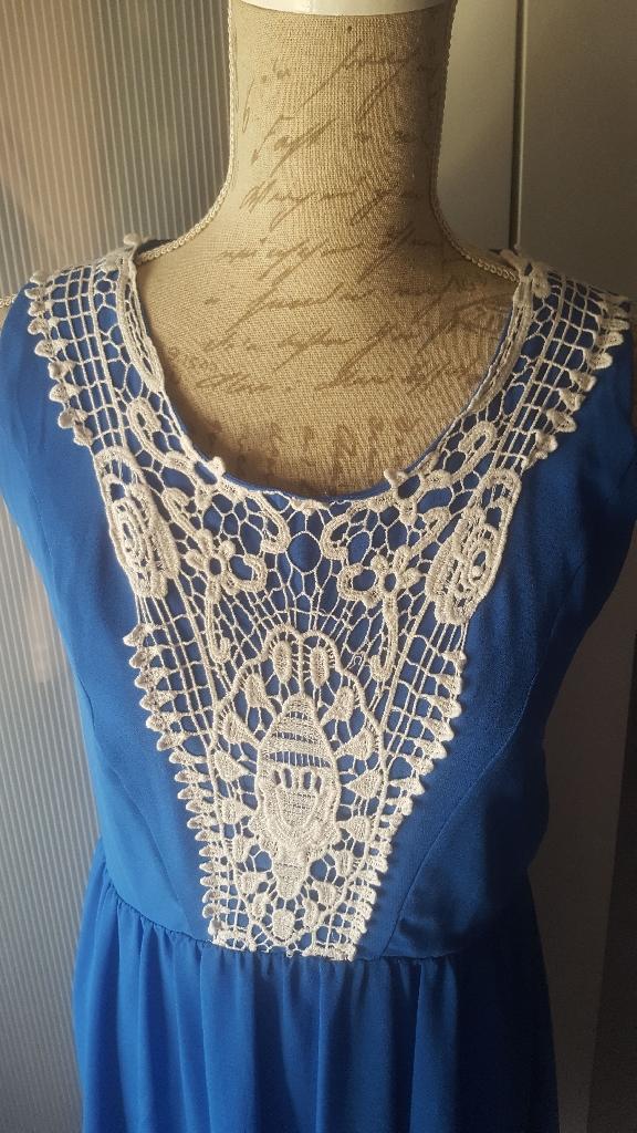 Blue Dress L