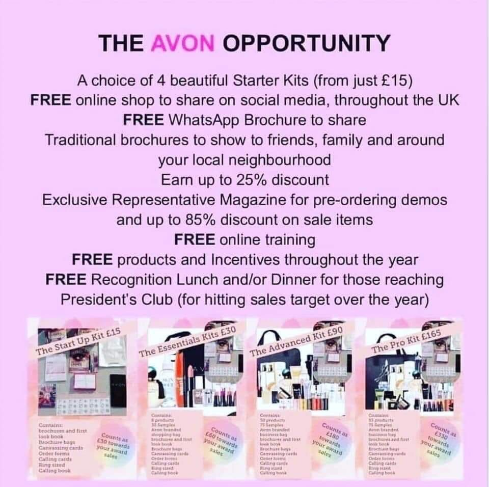 Wanted Avon Representative.