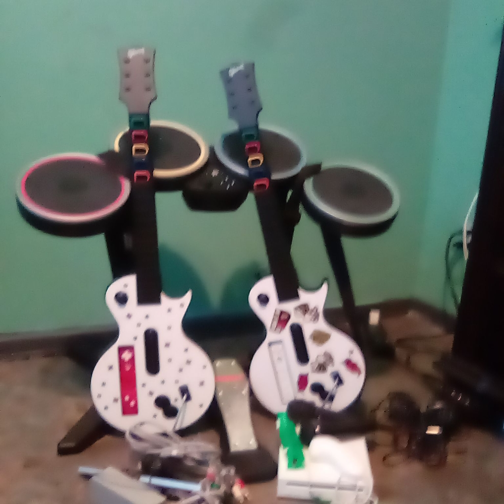 Wii console & accessories