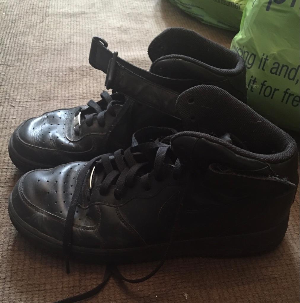 Nike Black trainers