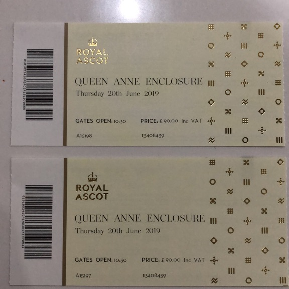 Pair of Ladies Day Tickets