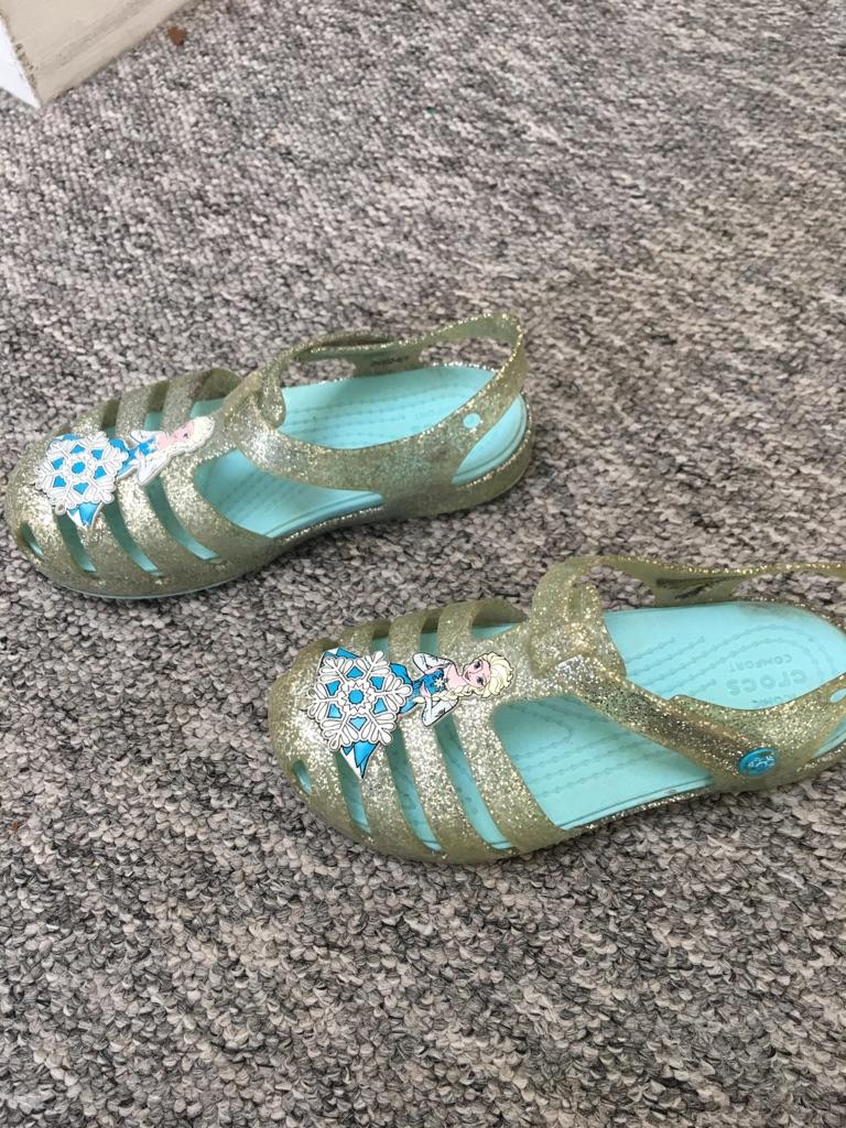 Crocs sandals for girls size uk11