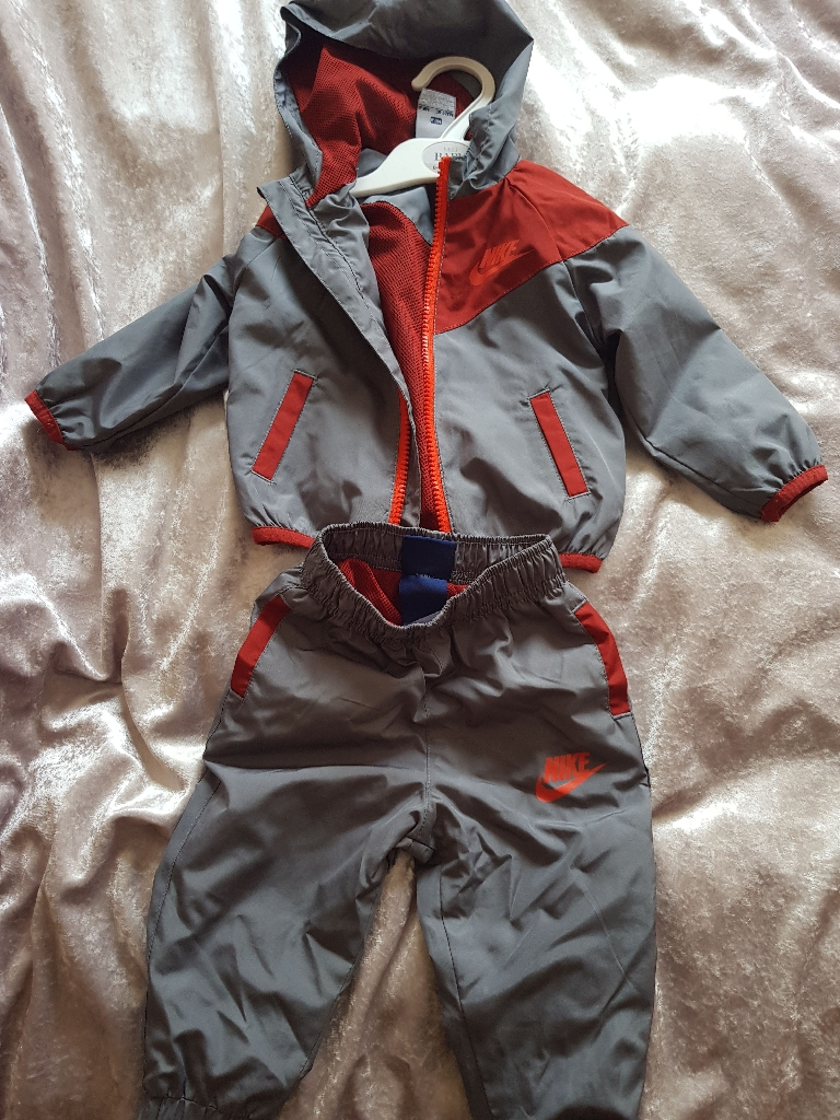 Real nike tracksuit 6 to 9 months