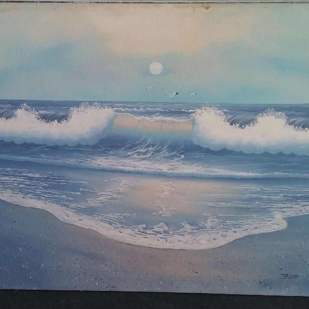 Hand paint art