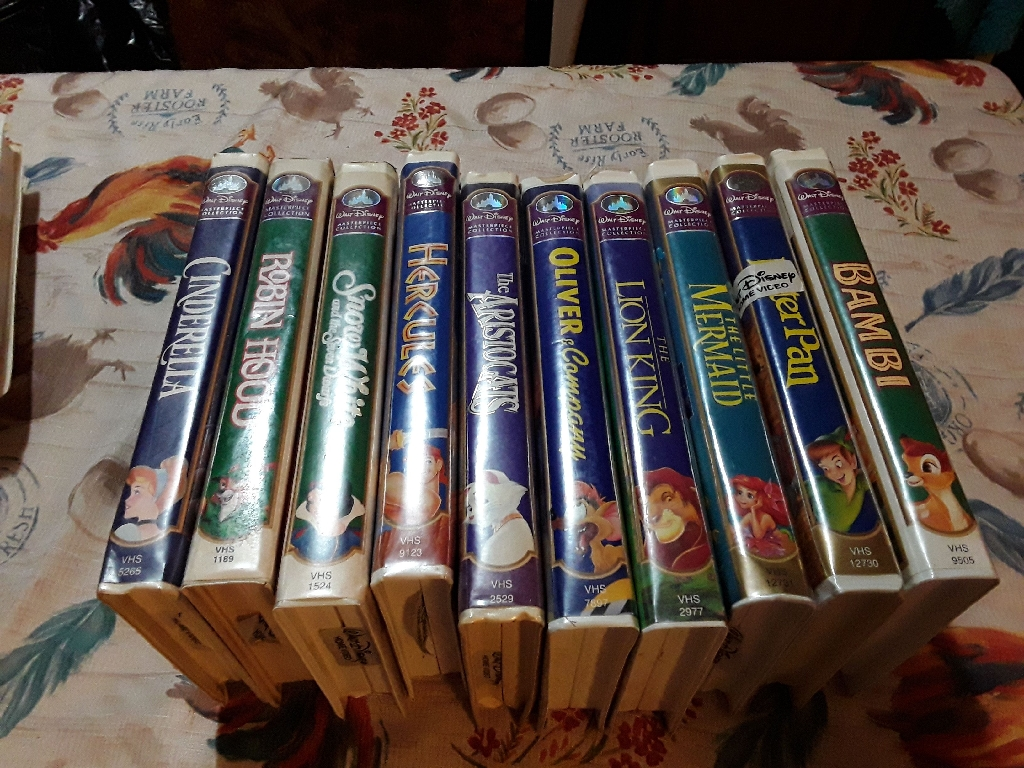 Set of 9 Disney Master Piece Collection