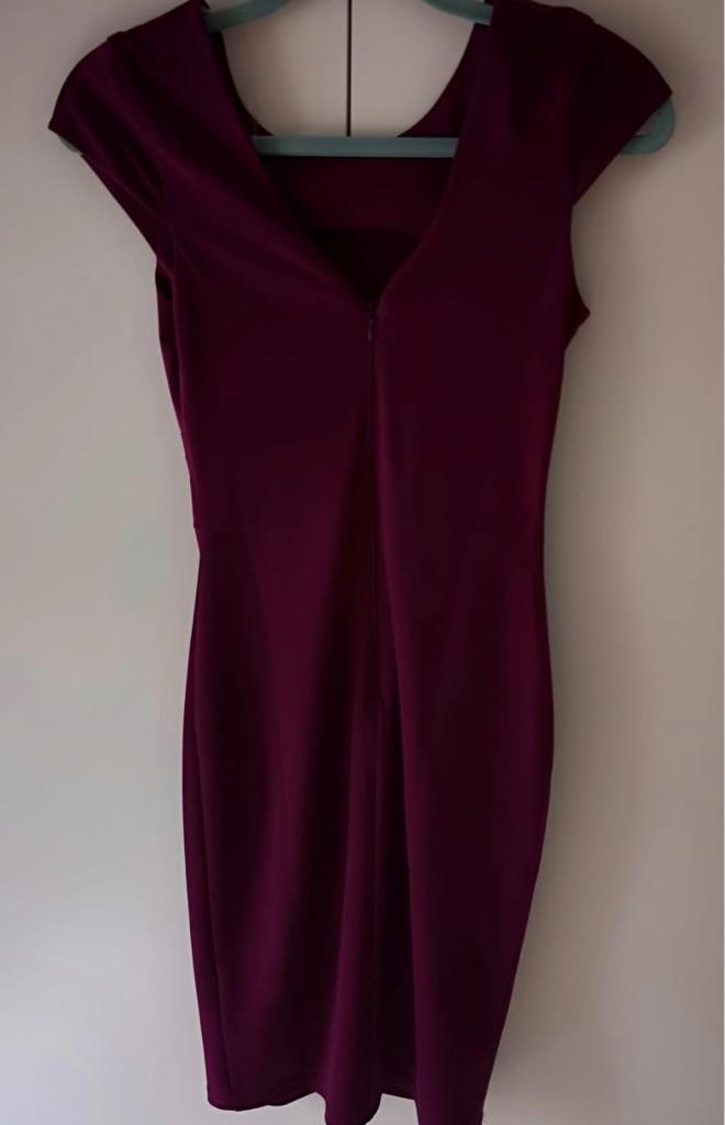 Purple dress Lipsy