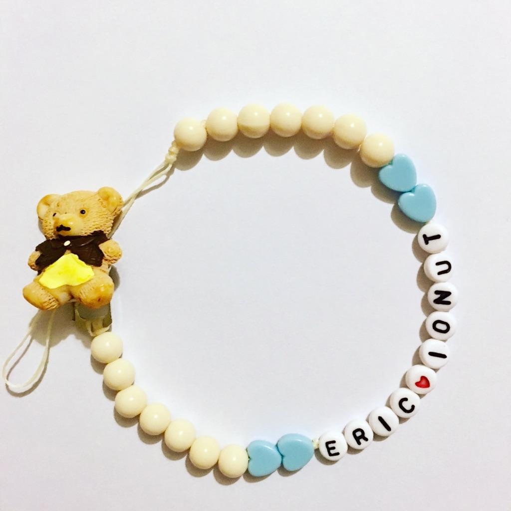 Teddy bear dummy chain