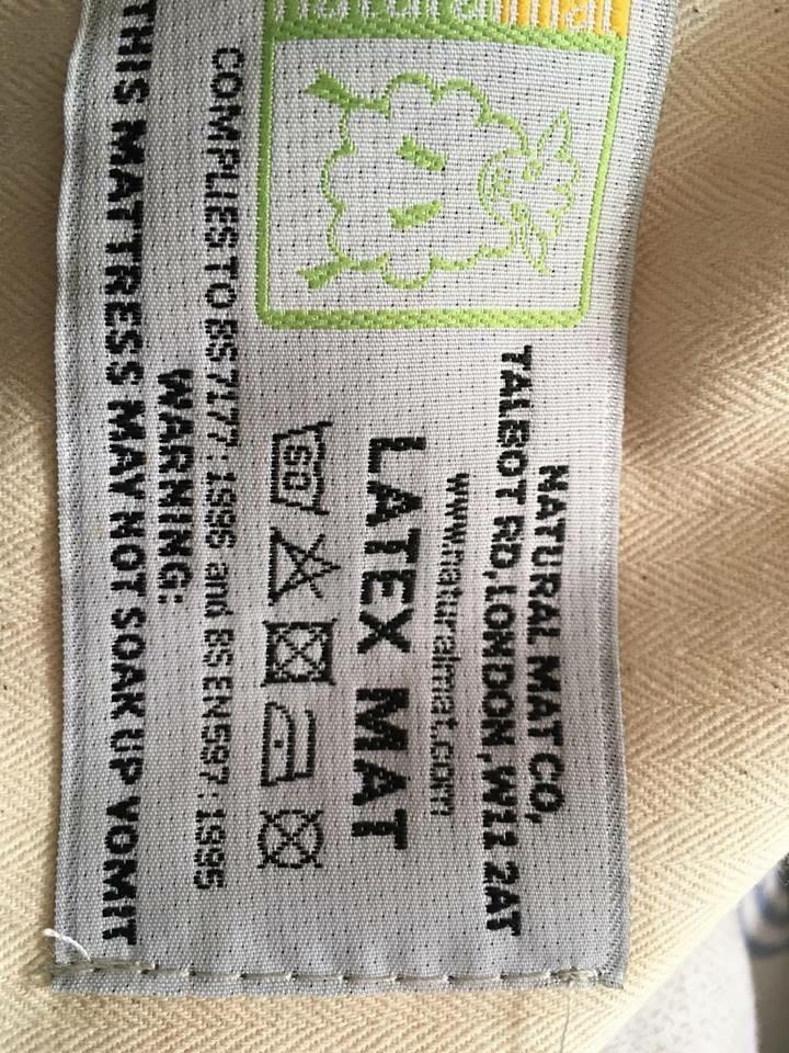 Latex toddler bed mattress
