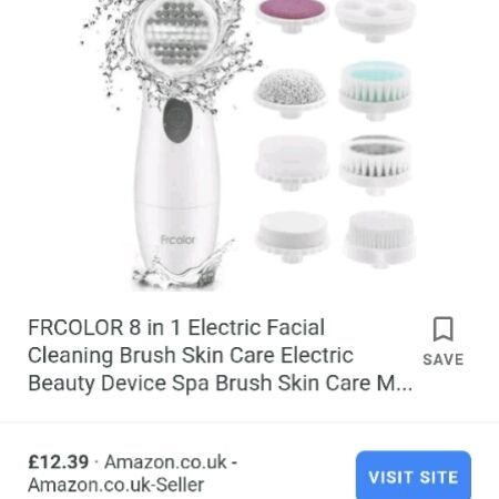 FRCOLOR 8 in 1 face cleaner