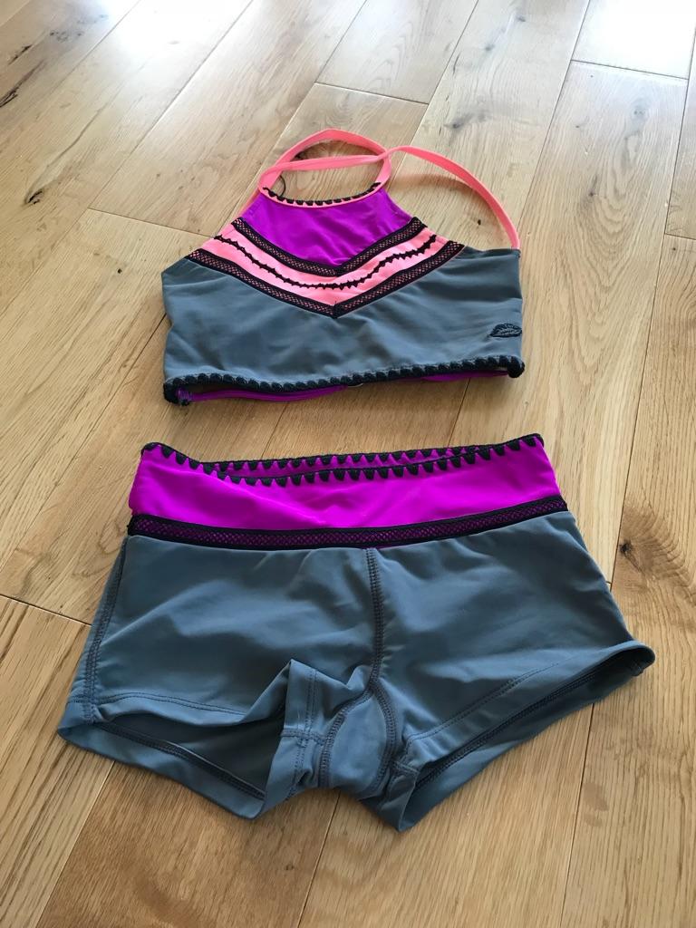 California Kisses shorts and crop top