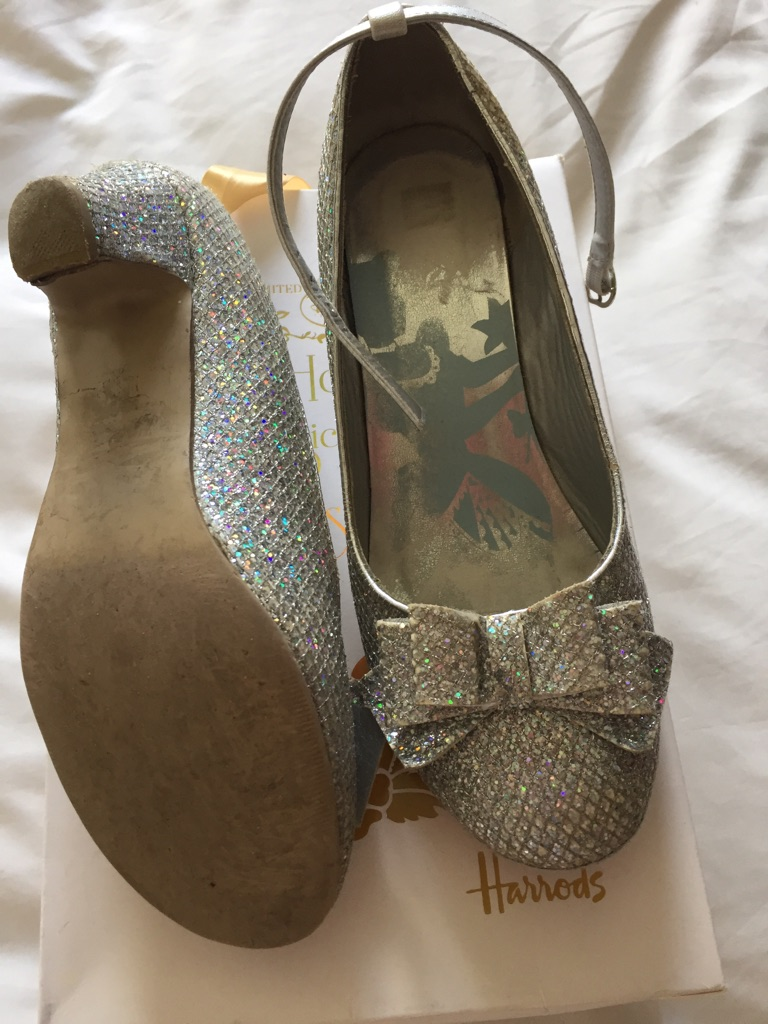 Limited edition Cinderella shoes