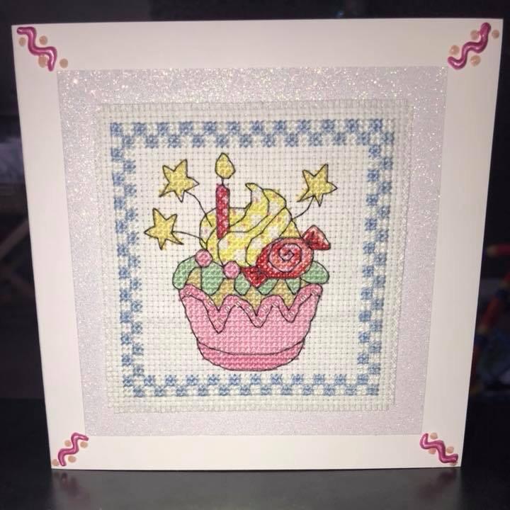 Cupcake Candle Card