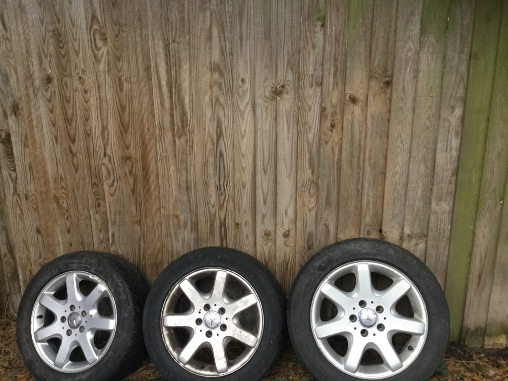 Mercedes Slk alloy wheels and tyres for sale -  second hand