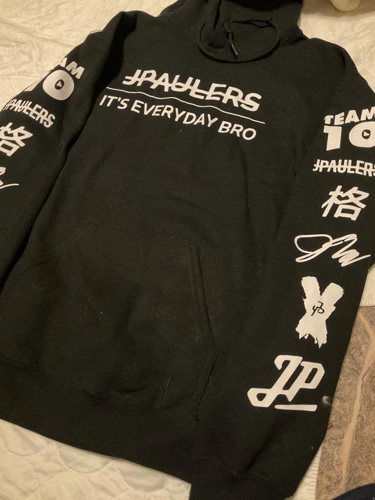 Boys NWOT Jake Paul hoodie 15-16 years