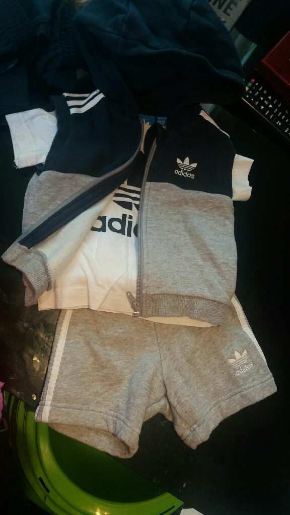 adidas & nike clothes and shows toddlers