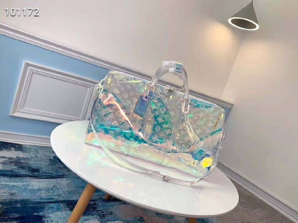 Mirror quality replica louis Vuitton  keepall prism
