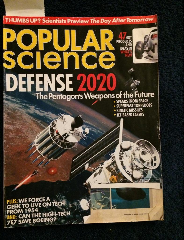Popular Science 2020 Predictions Magazine 🚀🗞