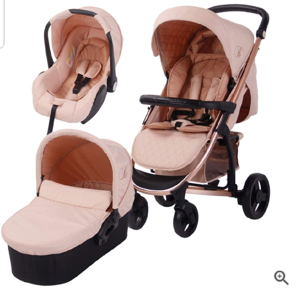 My babiie rose gold travel system