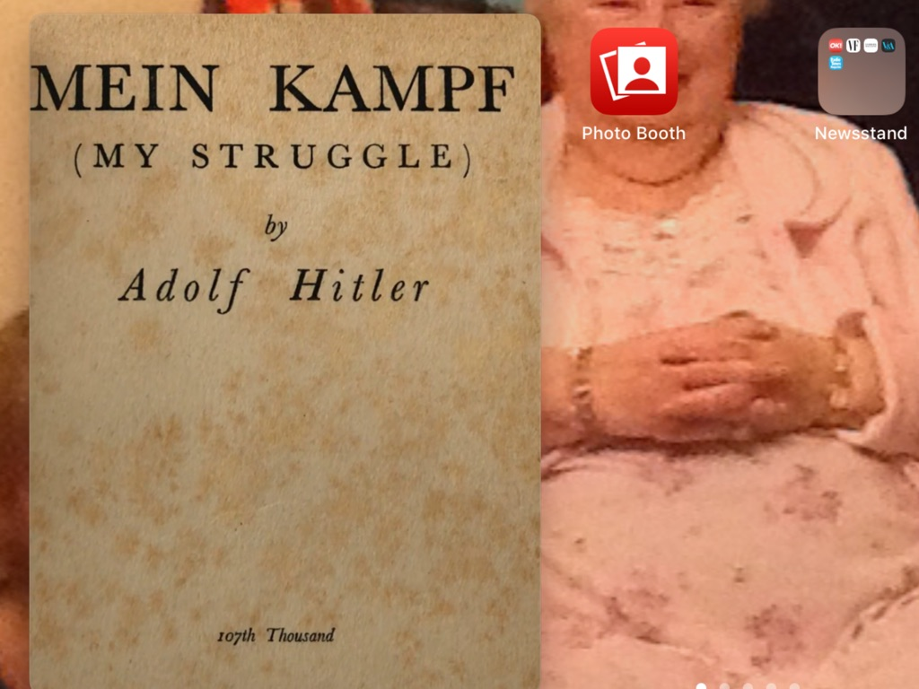 Mein kampf  my struggle adolf Hitler 1929 first edition Hutchinson & co