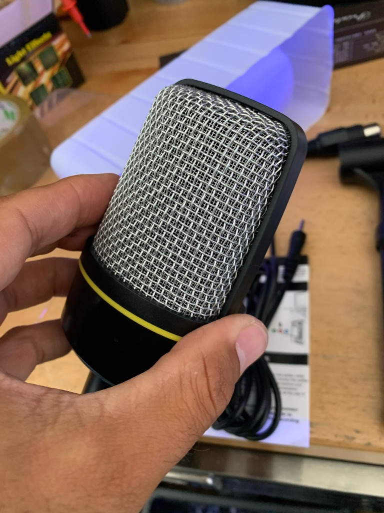 Recording streaming microphone