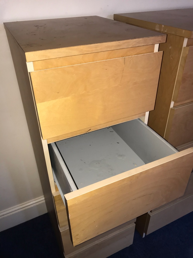 IKEA drawers (Malm)