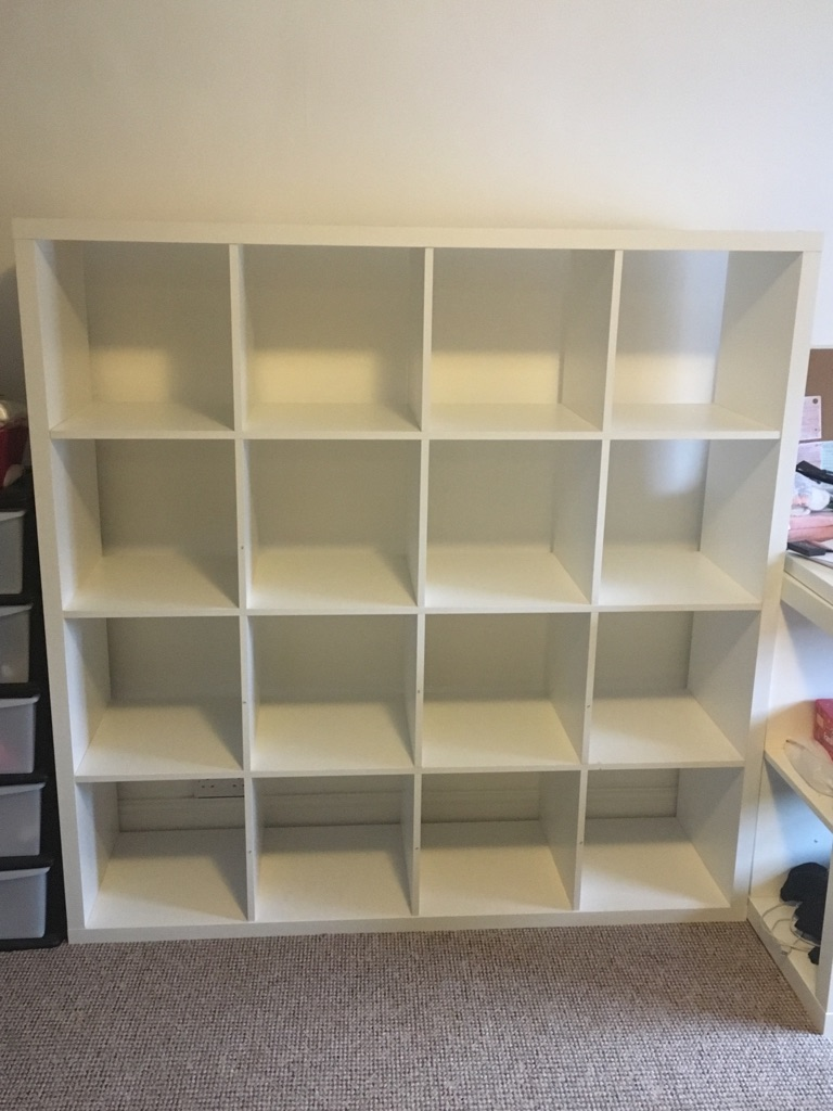4x4 shelving unit