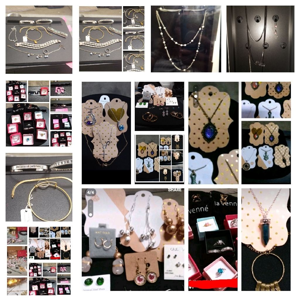 Big lot of jewelry 10 pieces for $35