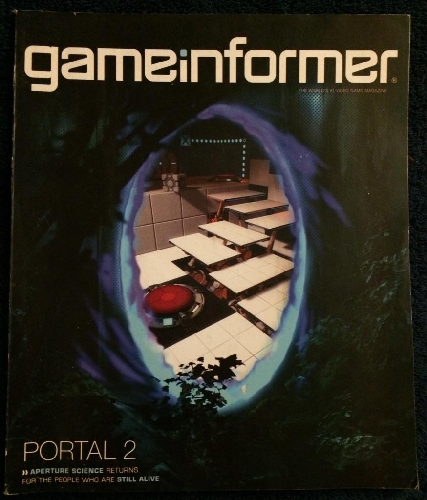 Game Informer Portal 2 Magazine 🎮🗞