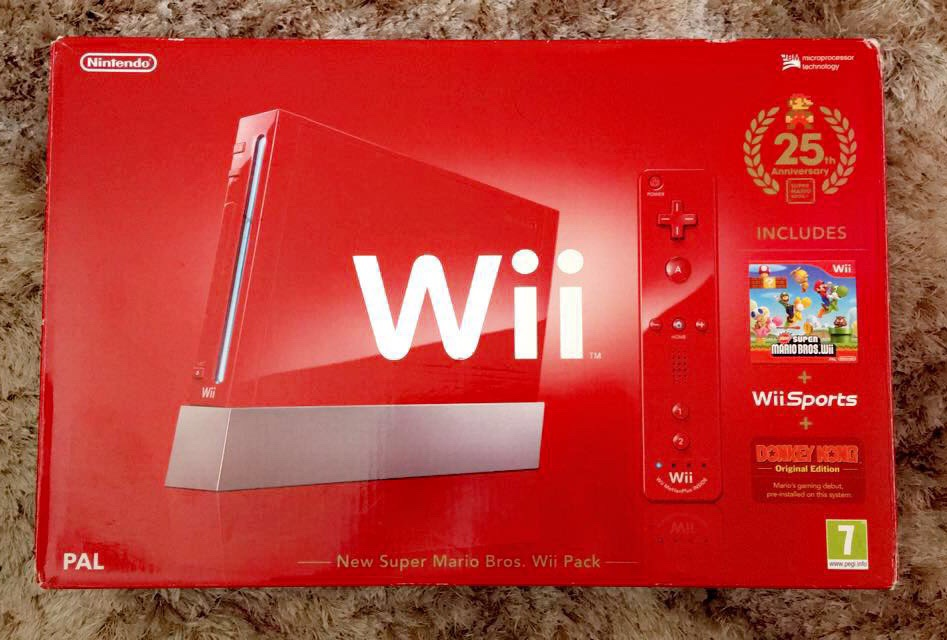 Nitendo wii, fitness board and games.