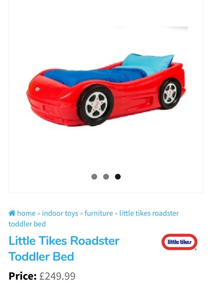 Little tykes car bed