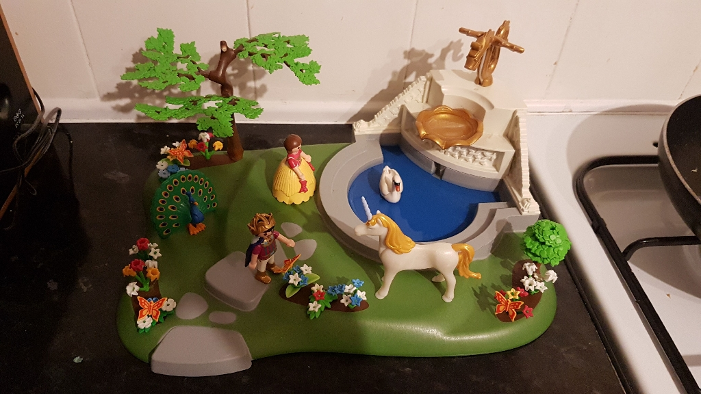 Playmobil super set dream garden - 4137