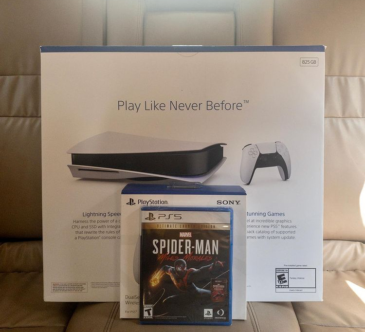 PlayStation 5 new in box