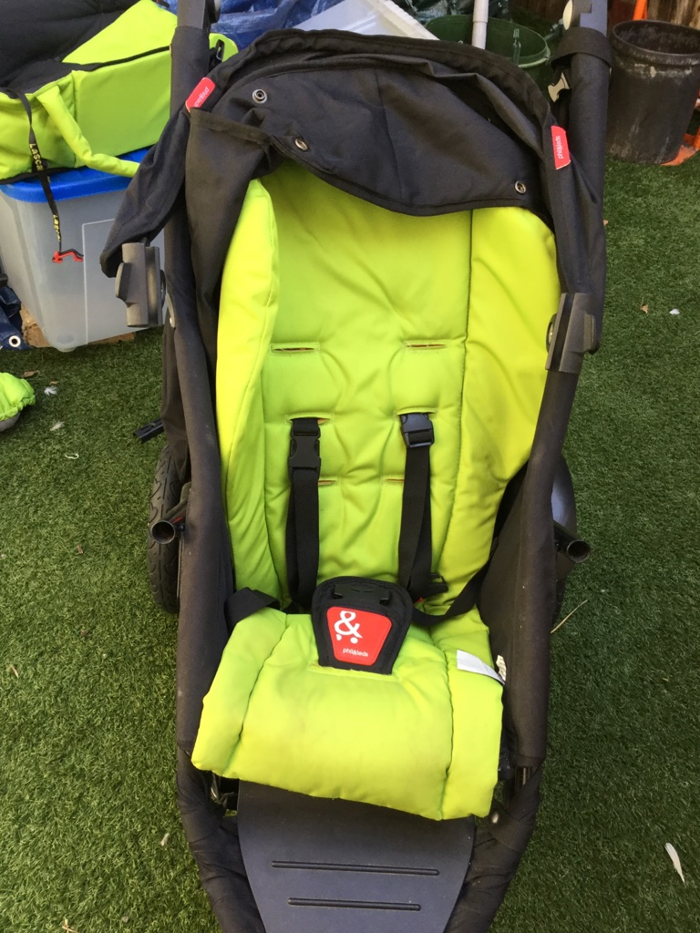 Phil & Ted's Explorer double pushchair (with extras)
