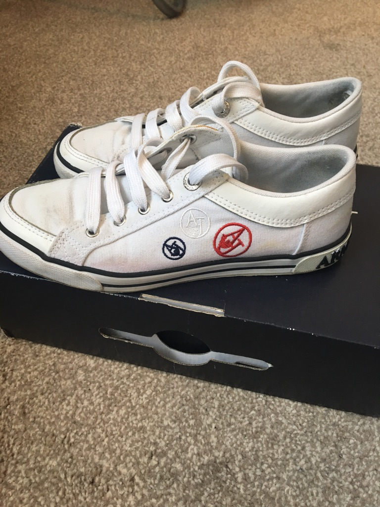 Armani Jeans trainers size 4.5