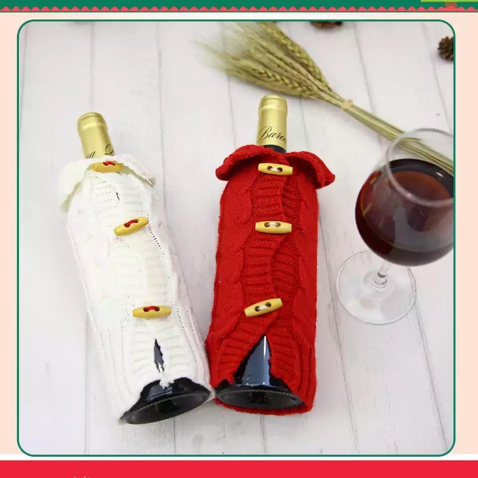 Wine bottle jacket
