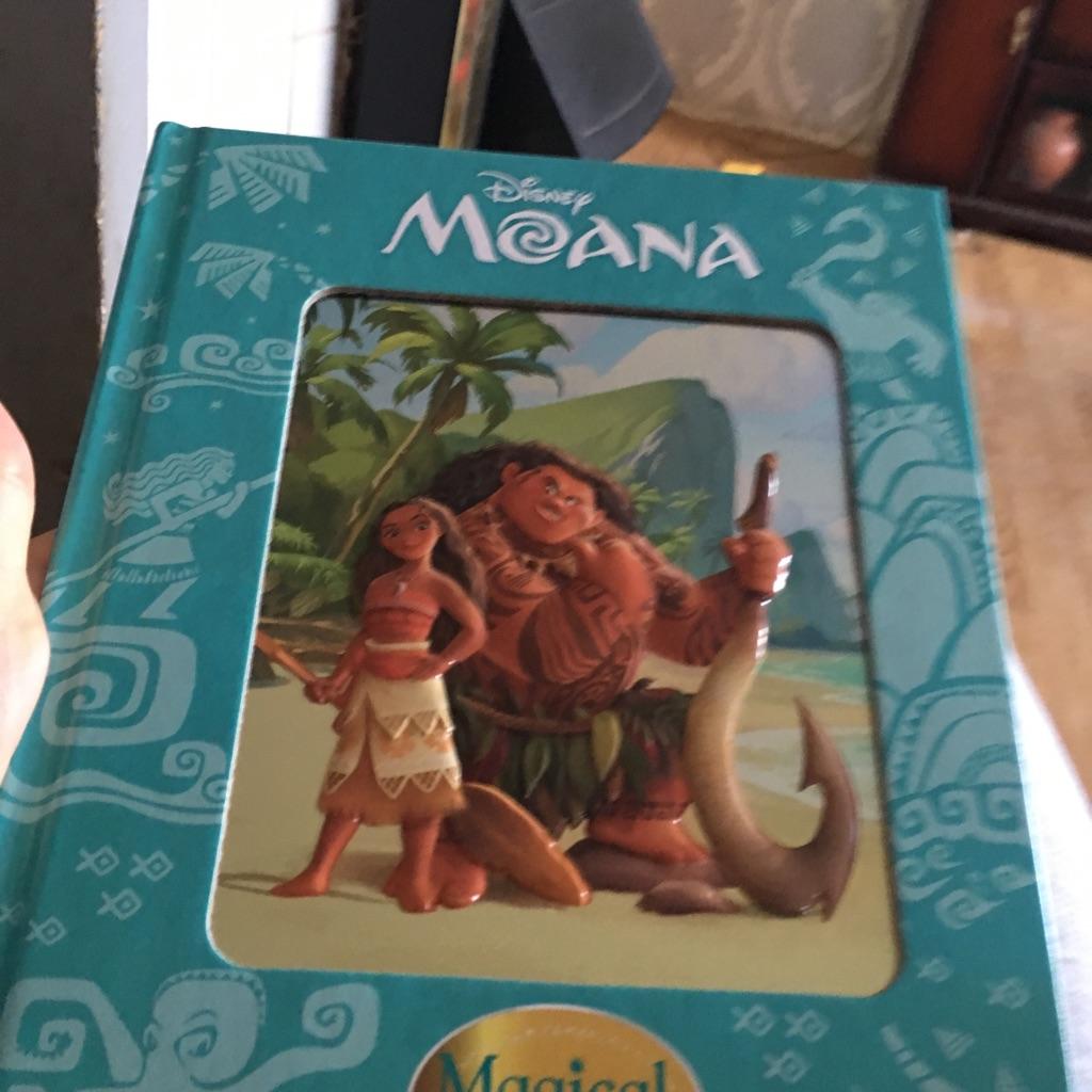 Disney Moana magical story book