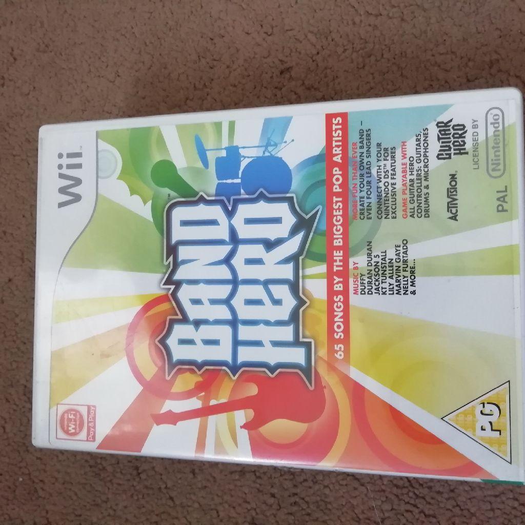 Wii band hero