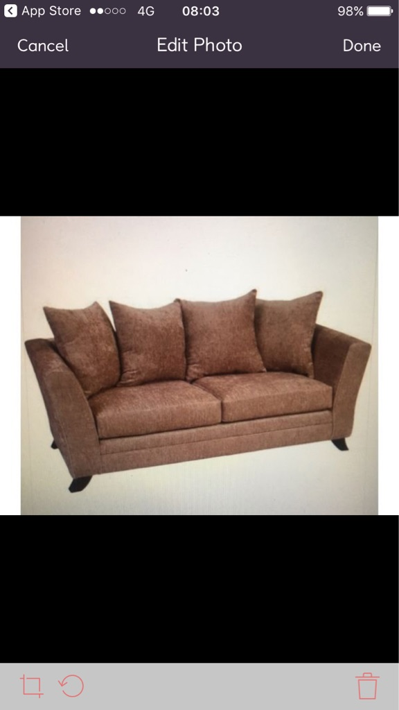 2 & 3 seater sofas in Mink
