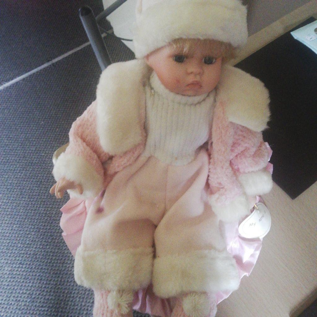 Baby girl pot doll