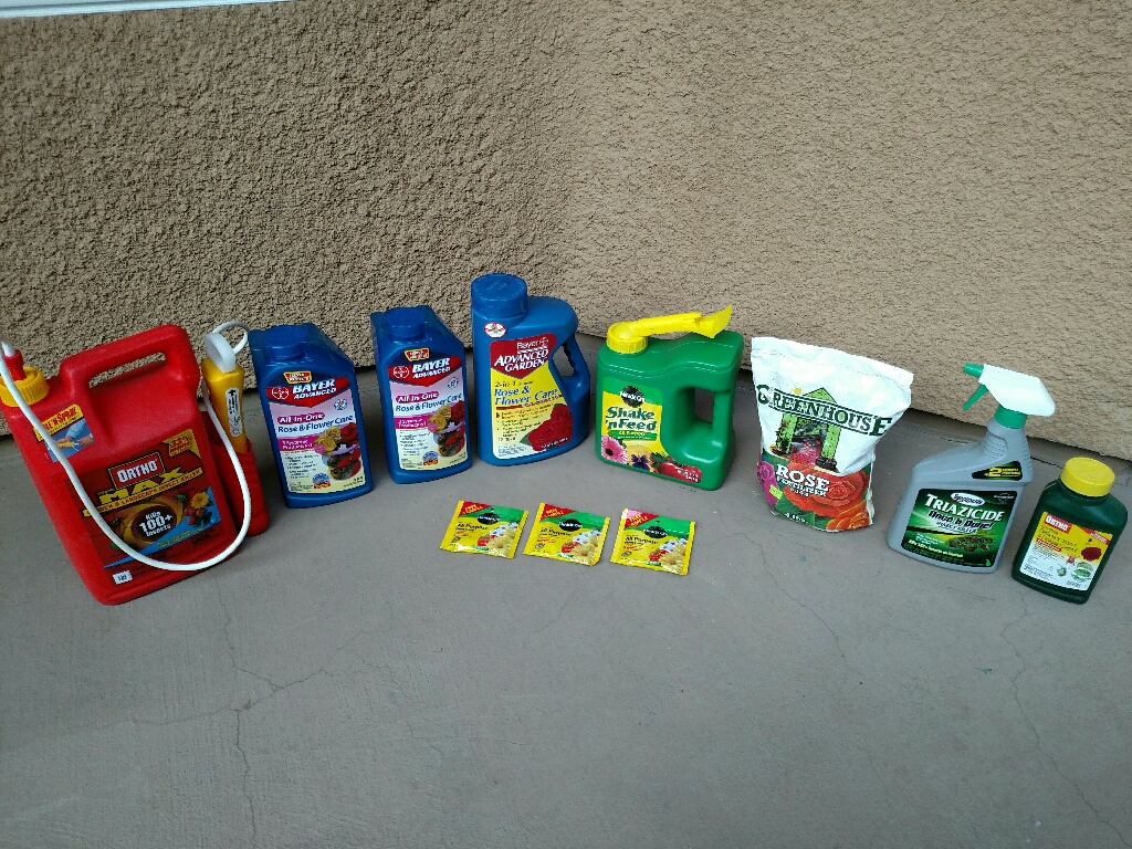 Rose & Flower Food and Insecticide
