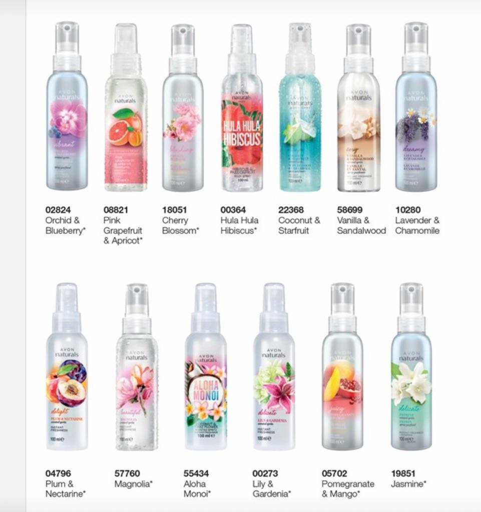 Avon Spritz Body Sprays 🌟reduced to only £1 each🌟