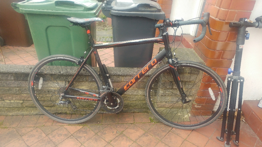 Carrera virtuoso road bike swap for mountain bike
